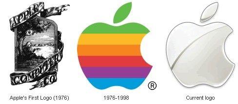 苹果iphone logo设计