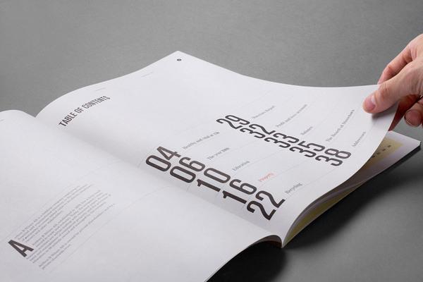 画册设计文字