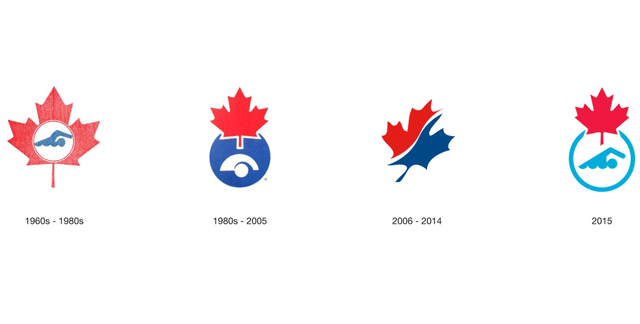 【广州协会vi设计】加拿大游泳协会新品牌形象设计