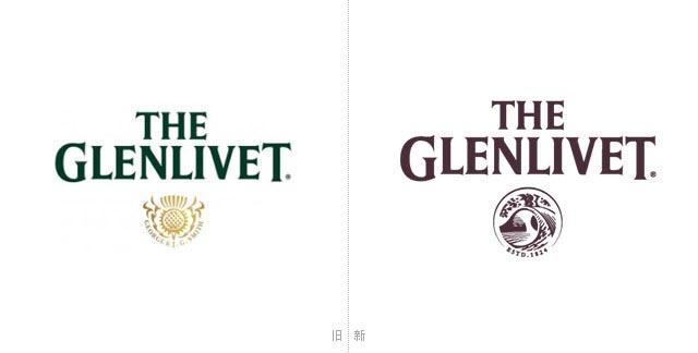 【标志设计公司】威士忌品牌格兰威特新logo设计,vi设计