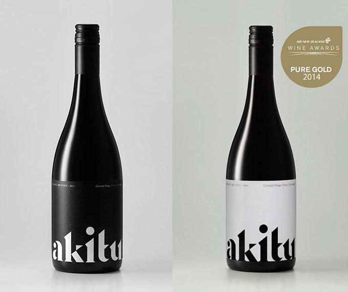 葡萄酒品牌akitu全新品牌形象设计