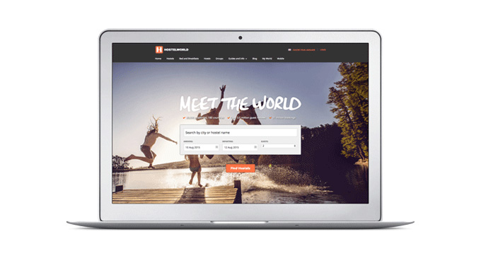 全球旅舍预订网站Hostelworld.com推出新标识