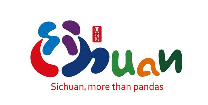 【广州标志设计】四川发布全新旅游形象logo设计和口号    2015-05-15